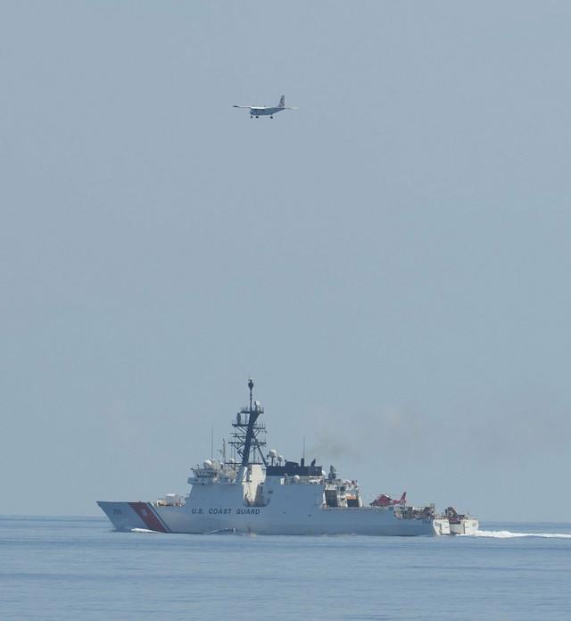 Američka obalska straža u Južnom kineskom moru tokom pomorskih vežbi