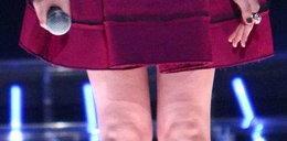 """Nóżki gwiazdy """"X-Factor"""""""