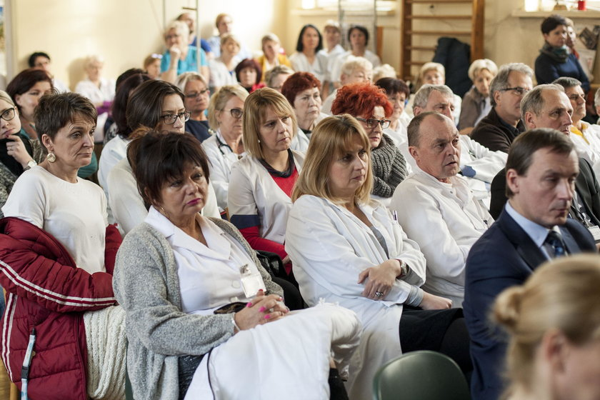 Prezydent w Szpitalu w Murckach