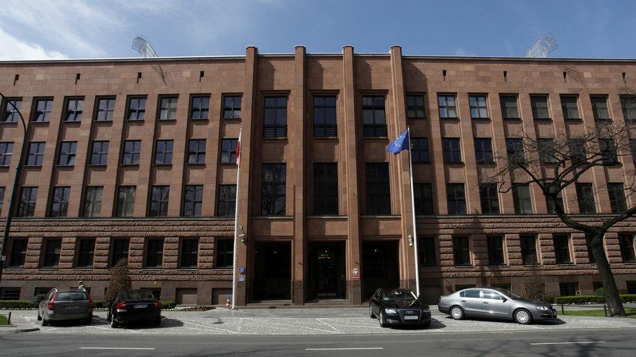 Warszawa. Budynek Ministerstwa Spraw Zagranicznych