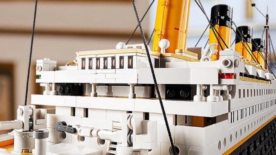 Model Titanica będzie złożony z ponad 9 tys. klocków LEGO