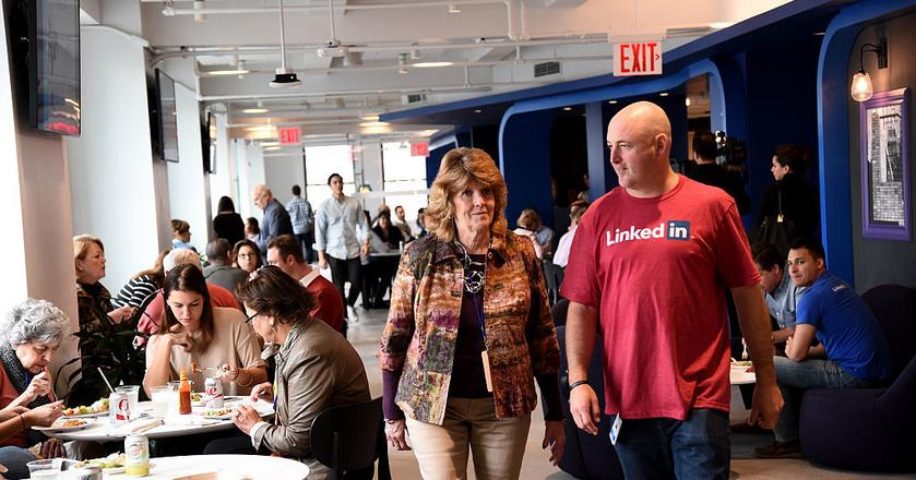 Bring In Your Parents Day 2015 w LinkedIn