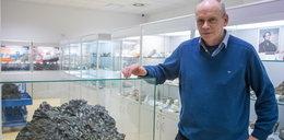 Największy meteoryt w Poznaniu