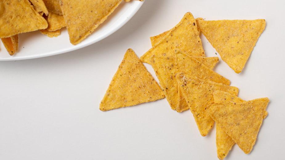 Nadmuchany nachos to coś niespotykanego - zazwyczaj są one płaskie