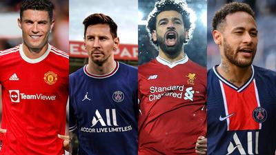 Forbes' list of top 10 best-paid players in world football