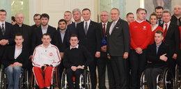 Prezydent spotkał się z mistrzami sportu