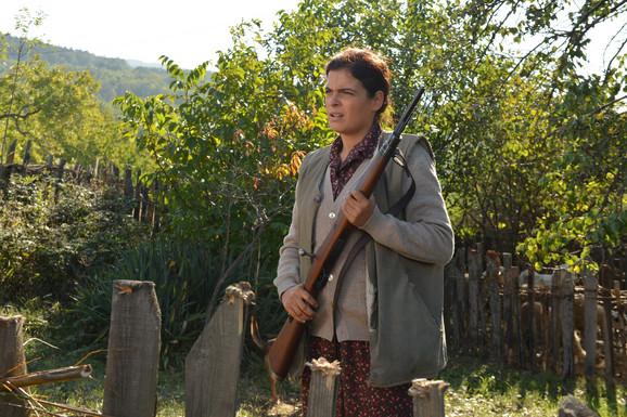 Milena Predić igra lik DAnice, hrabre i odlučne žene