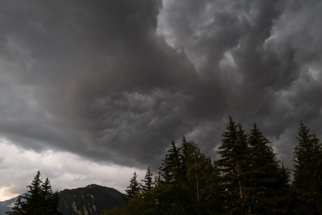 Oluja u francuskim Alpima