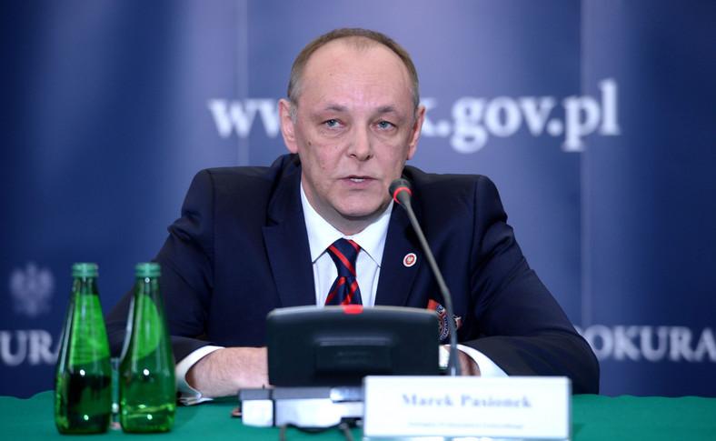 Zastępca prokuratora generalnego Marek Pasionek