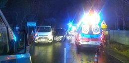 Karambol niedaleko Polkowic. Wielu rannych