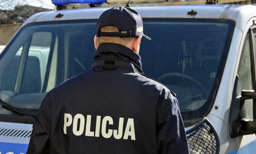 Śmierć policjanta w Jaworznie