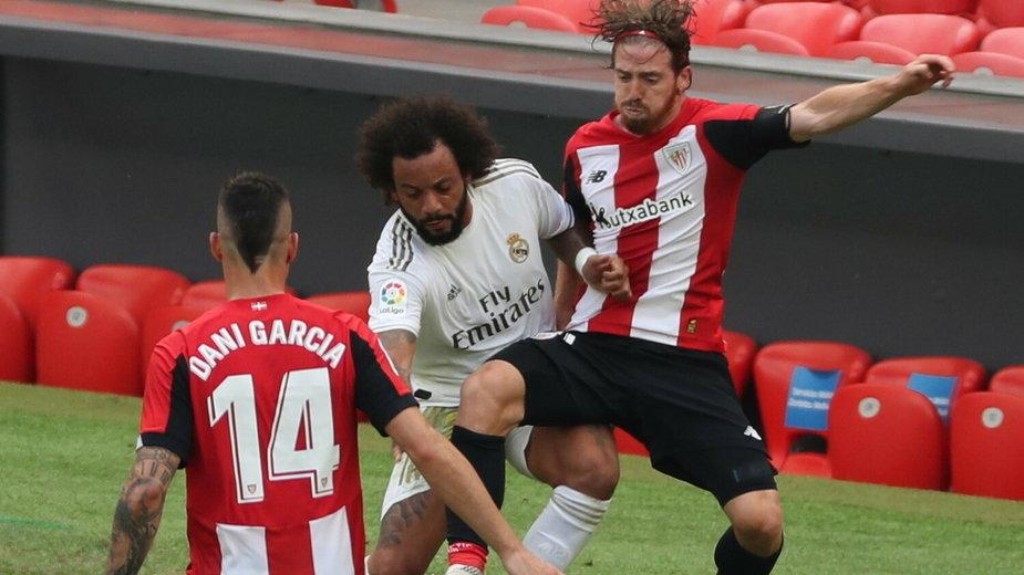 Marcelo był bohaterem spotkania w Bilbao