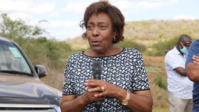 Governor Ngilu admitted at Nairobi Hospital