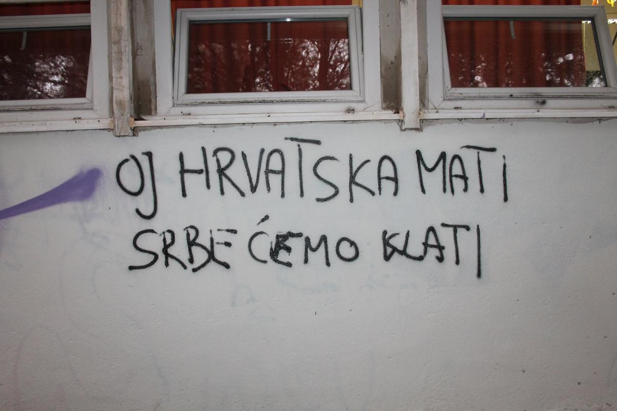 Резултат слика за графити мрзње у хрватској