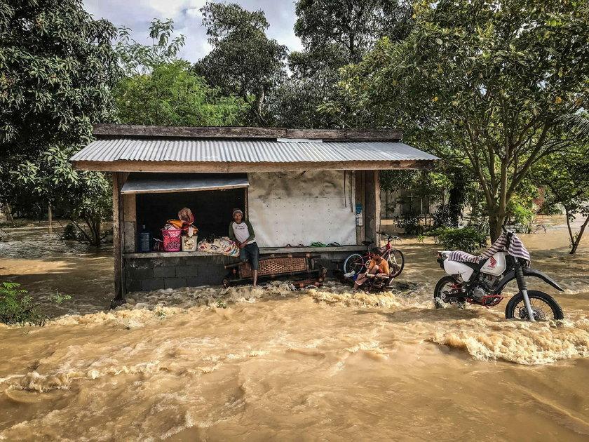 skutki burzy tropikalnej na Filipinach
