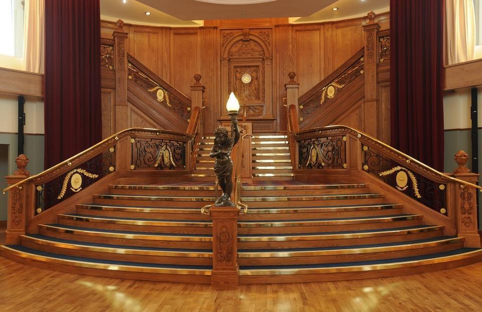 Piękne wnętrza Titanica