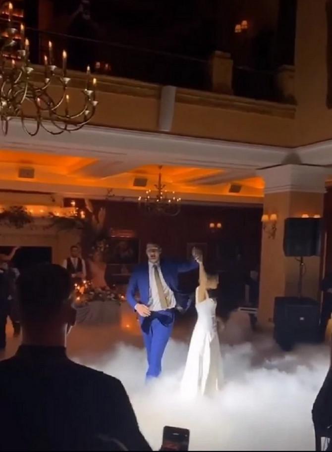 Nikola Jokić na venčanju u Somboru