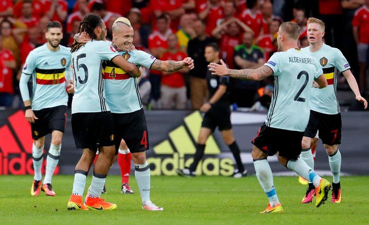 Fudbalska reprezentacija Belgije, Fudbalska reprezentacija Velsa