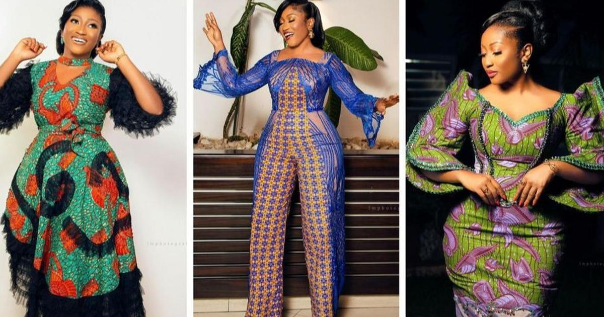 All the elegant dresses Anita Akuffo wore to host Ghana's Most Beautiful 2021