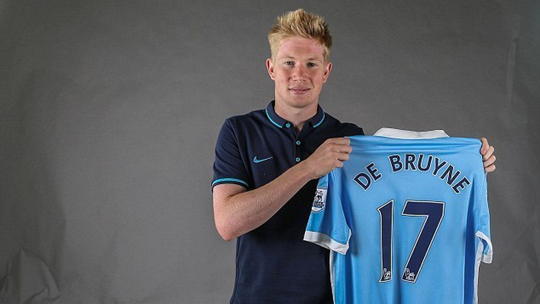 differently 20430 e85ca Kevin De Bruyne Forward to wear No 17 after completing ...