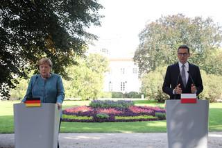Merkel w Warszawie: W kontekście europejskim rozmawialiśmy o praworządności