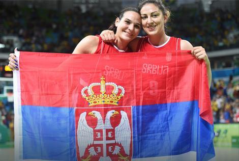 Drugarice: Sonja Petrović i Jelena Milovanović