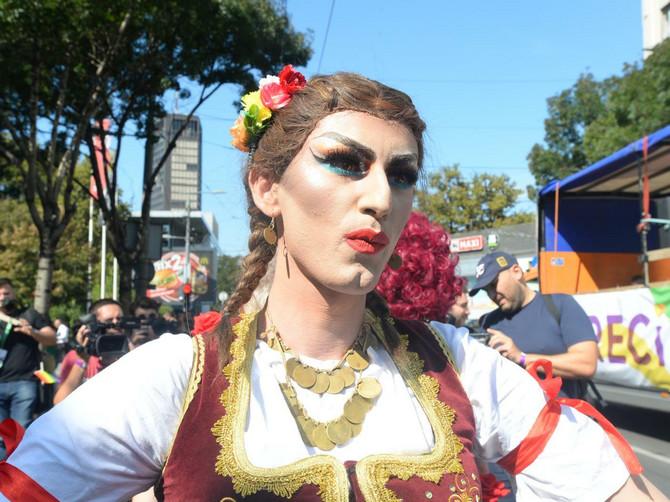 Učesnica Parade ponosa oko koje se digla najveća prašina