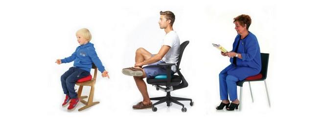 ZDRAVO SEDENJE - TOGU jastuci za aktivno-dinamičko sedenje