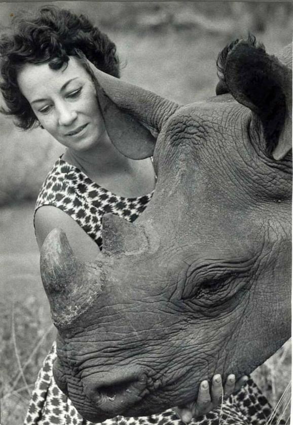 Njena organizacija se brine i o nosorozima