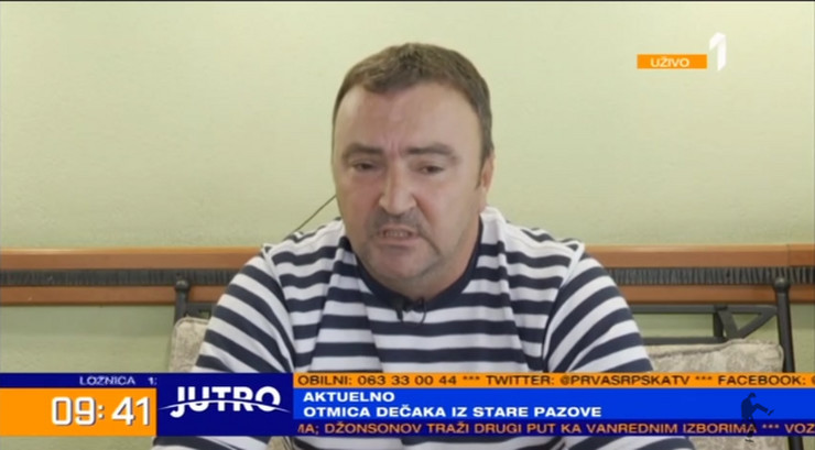 Goran Mitrović, otac Petra Mitrovića