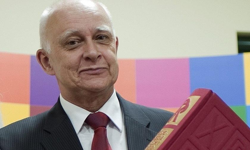 Marszałek Jarosław Dworzański.