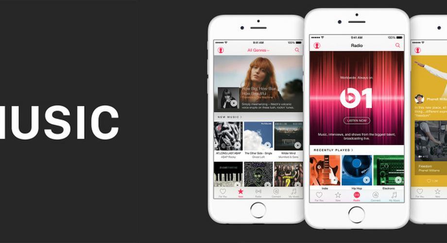 Apple Music kommt mit Beats 1 und sozialem Netzwerk