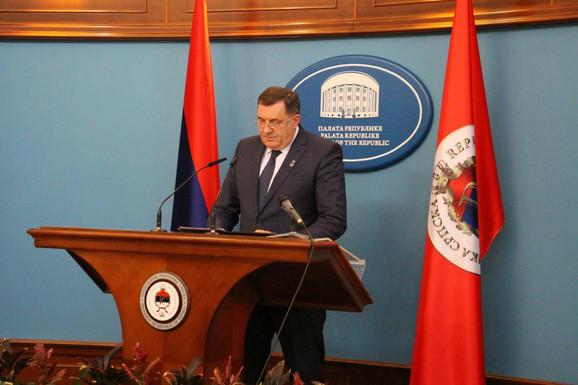 Milorad Dodik na današnjoj pres konfereniji