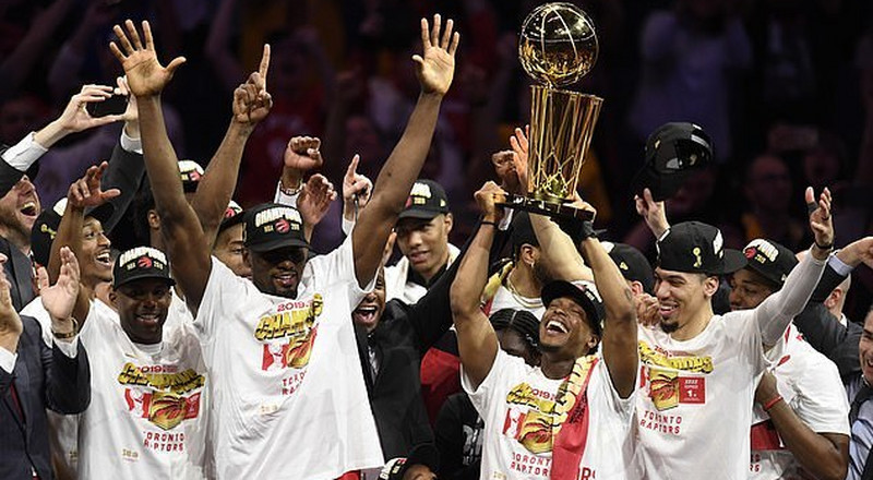 Raptors dethrone Warriors to capture first NBA crown