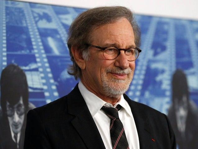 """Director Steven Spielberg poses at the premiere of the HBO documentary film """"Spielberg"""" in Los Angeles"""