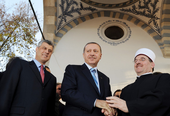 Erdogan prilikom posete Kosovu