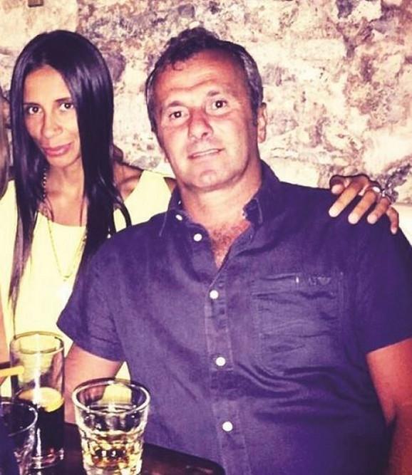Dejan Savićević i Jelena Babić