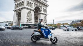W Paryżu uruchomiono uliczne wypożyczalnie skuterów elektrycznych