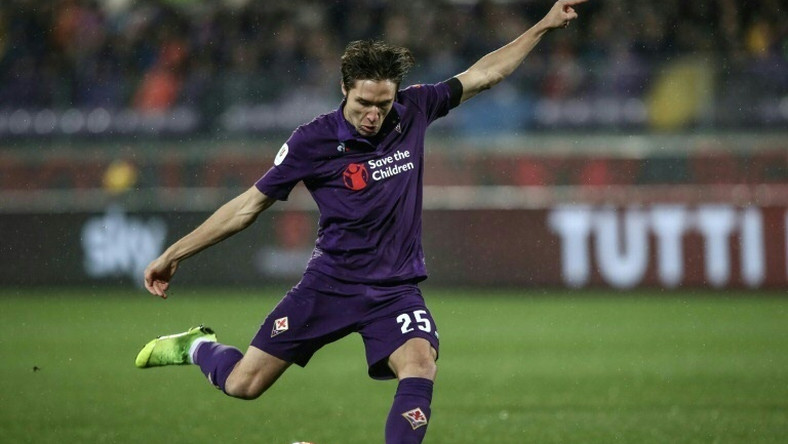 Federico Chiesa has scored 12 goals for Fiorentina in the league and Coppa Italia this season