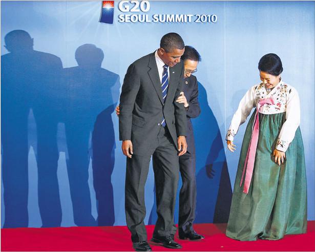 Obama złagodził stanowisko USA w obliczu furii, jaką Ameryka wywołała w państwach nastawionych na eksport Fot. Reuters/Forum
