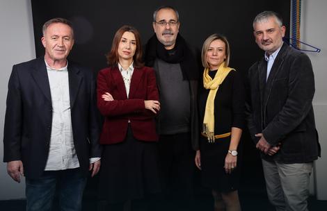 Težak zadatak: Božo Koprivica, Jasmina Vrbavac, Mihajlo Pantić, Tamara Krstić i Zoran Paunović