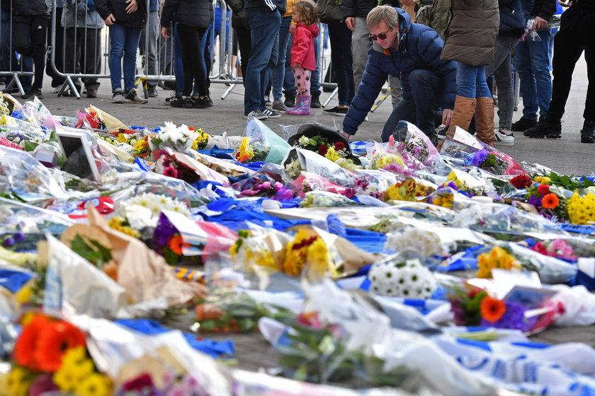 Katastrofa śmigłowca właściciela Leicester City. Nowe nagranie