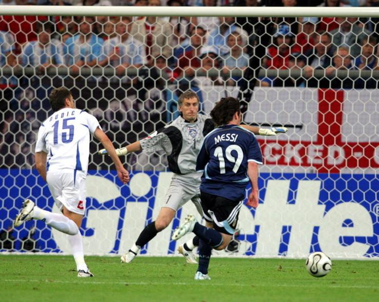 Leo Mesi na utakmici Argetina - Srbija