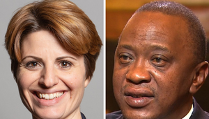 British MP Emma Hardy (left) has denied knowing that the sh.152 million flat she was living in London is owned by the Kenyatta family.