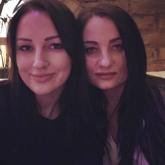 Aleksandra Prijović i majka Borka