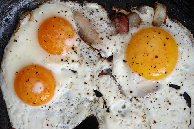 Svakog jutra na mom meniju bila su 3 jaja i ovo je rezultat