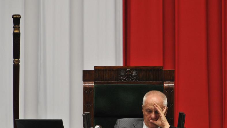 Wicemarszałek Sejmu Stefan Niesiołowski