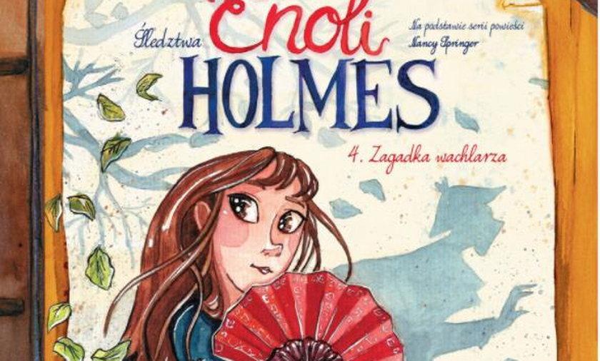 Enola Holmes podbija serca dziewczynek. Co przynosi 4. tom jej przygód?
