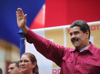 Prezydent Wenezueli Nicolas Maduro jest również objęty sankcjami z strony USA.