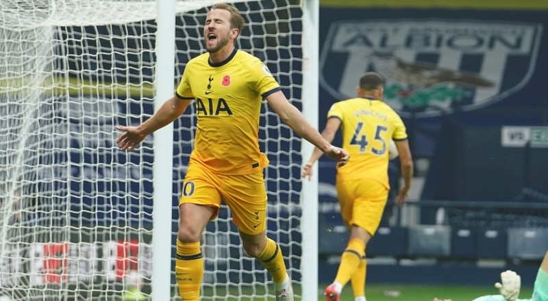 Spurs go top after Kane's late winner